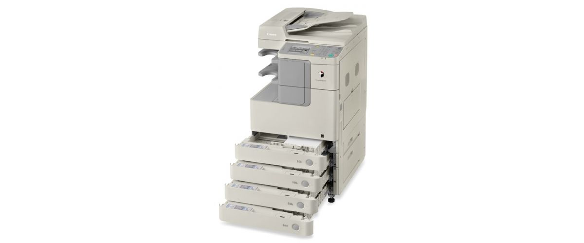 BW 2525-2530 Printer and Copier with Open Paper Drawers